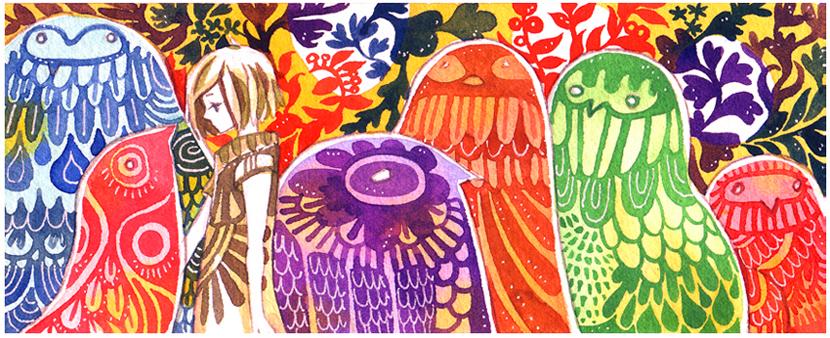 birds of paradise by koyamori