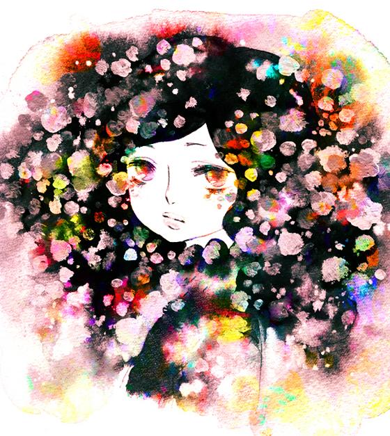 space hair by koyamori