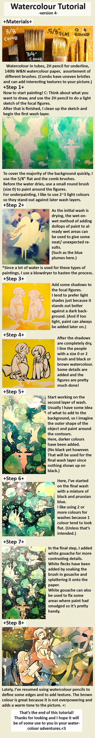 watercolour tutorial v.4