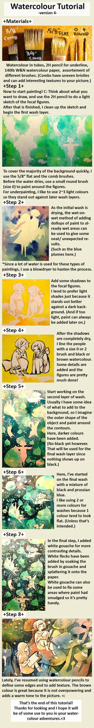 watercolour tutorial v.4 by koyamori