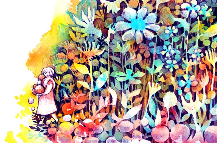 fruit drops by koyamori
