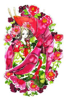 camellias and crayfish