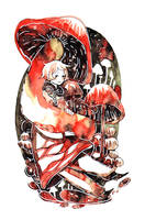 sporific umbrella by koyamori