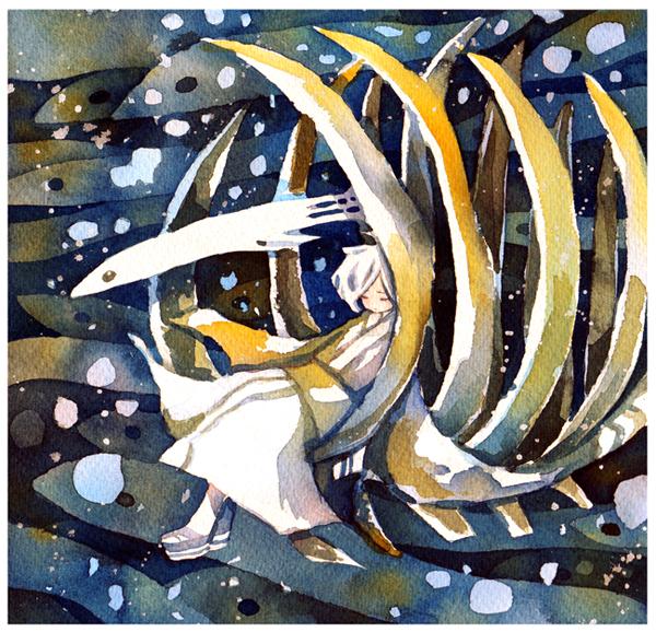 whale bone by koyamori