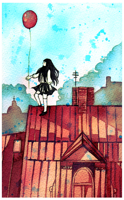 rooftop by koyamori