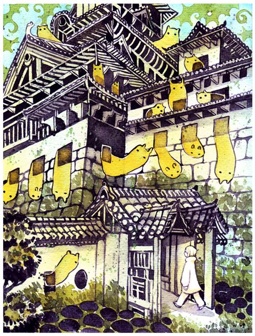 castle by koyamori