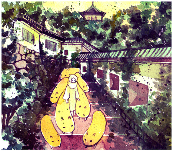 groundskeeper by koyamori