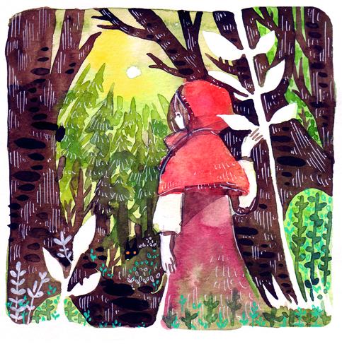Little Red by koyamori