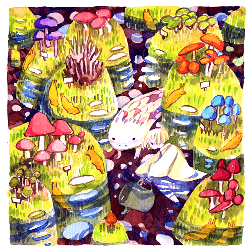 pond gardening by koyamori