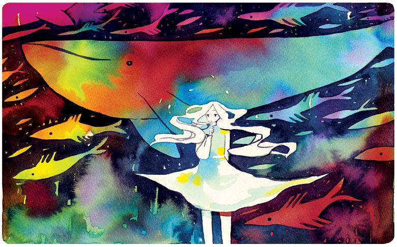 secrets to a whale by koyamori