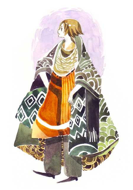 a big coat by koyamori