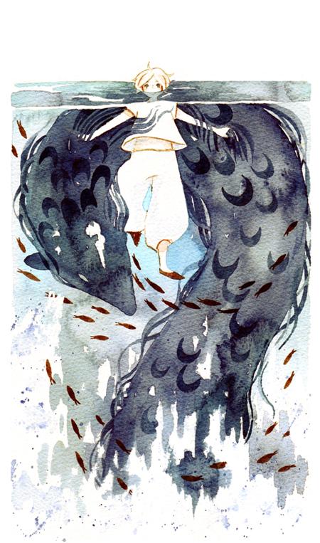 treading water by koyamori