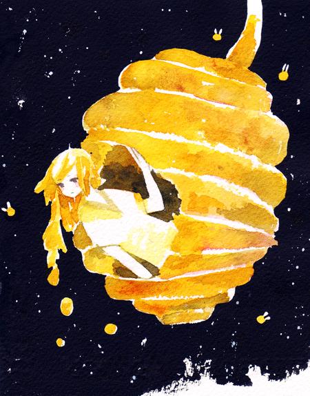 bee hive by koyamori