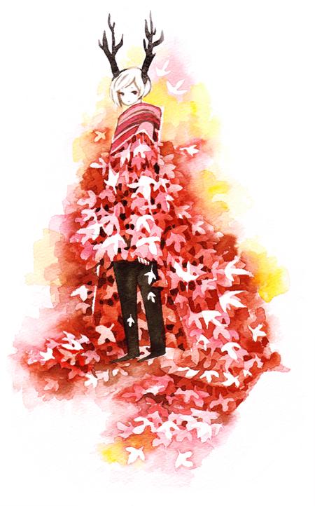 fall cloak by koyamori