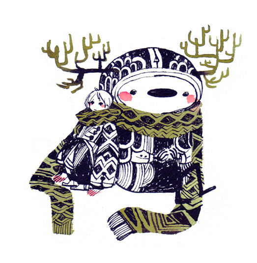 muffler by koyamori
