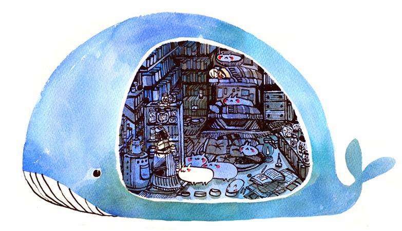 A whale by koyamori