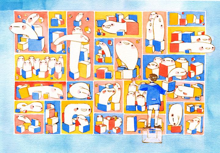 Memory cabinets by koyamori