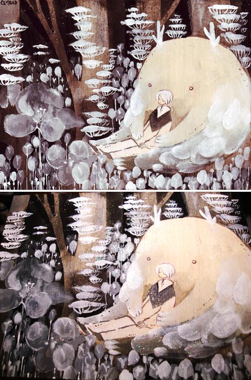 Fluff by koyamori