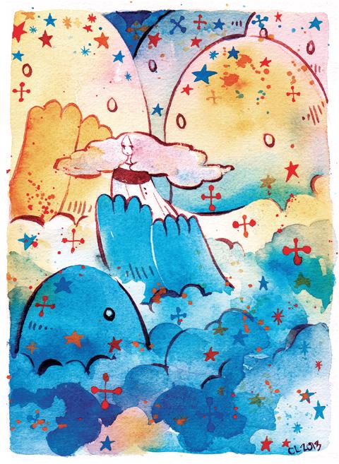 Cloud Giants by koyamori