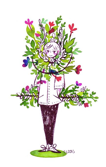 Ikebana by koyamori