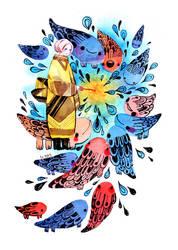 Penny Sparklers by koyamori