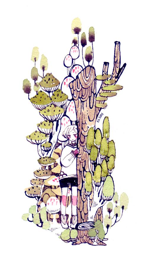 Tree Bark by koyamori