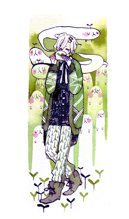 Tea and ghosts by koyamori