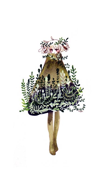 plant coat by koyamori