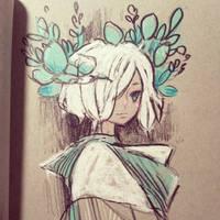 Leaf Crown by koyamori