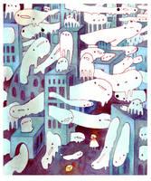 an empty city by koyamori