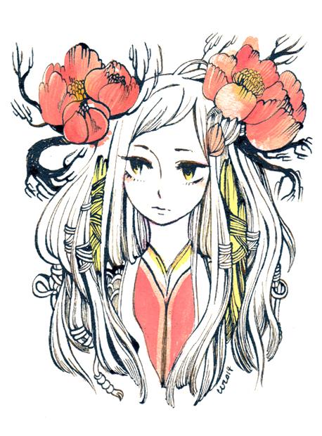 portrait by koyamori