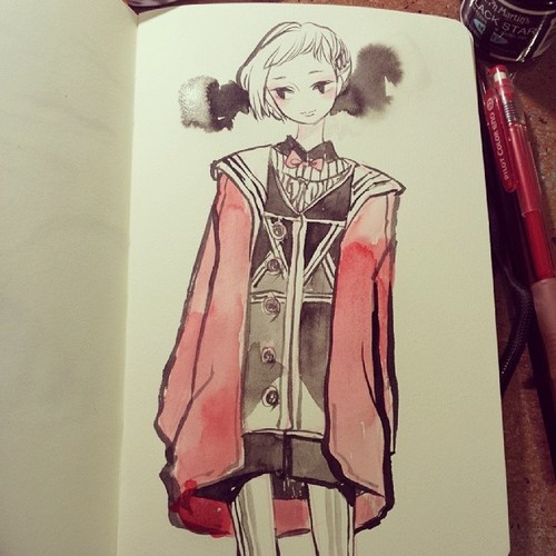 Red coat by koyamori