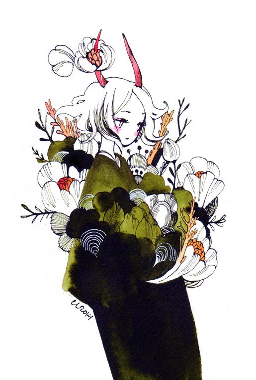 blooming by koyamori