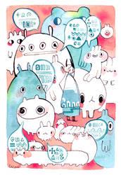 Chatterbugs by koyamori