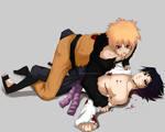 NaruSasu: Rough love
