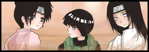 Team Gai: Unfamilar Terrain by Mikutashi
