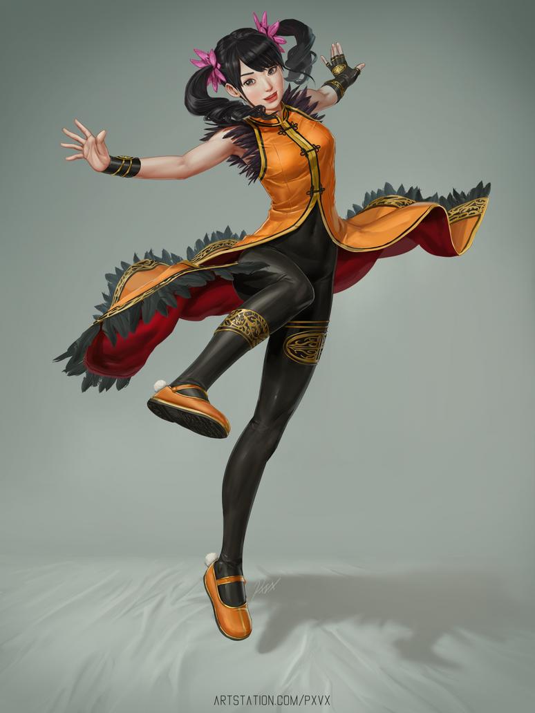 Ling Xiaoyu by porksiomai