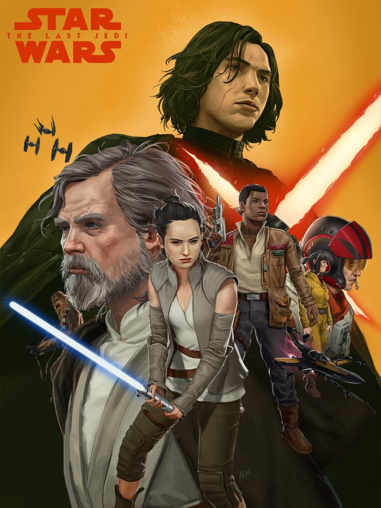 The Last Jedi by porksiomai