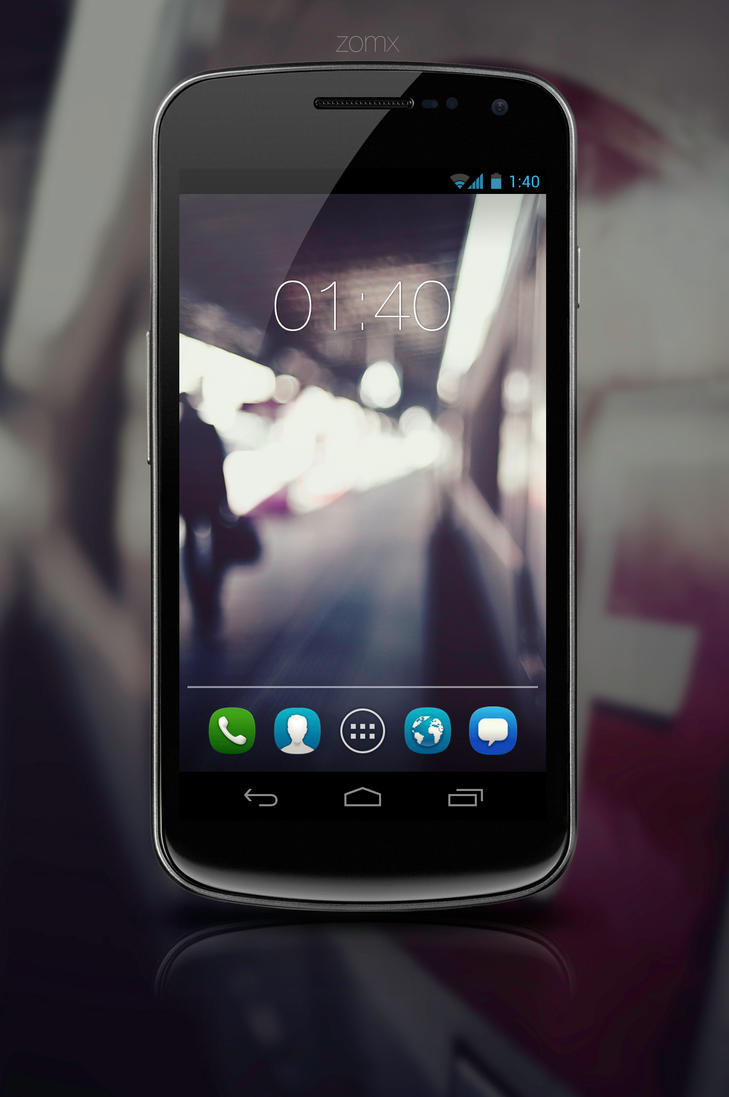 Galaxy Nexus v1 by zomx