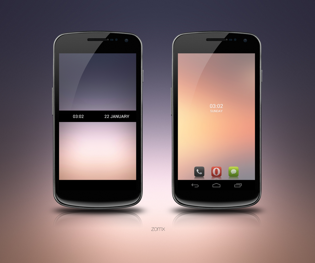 Galaxy Nexus v6 by zomx