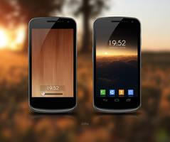 Galaxy Nexus v8 by zomx