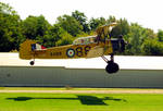 Tiger Moth Takes Off