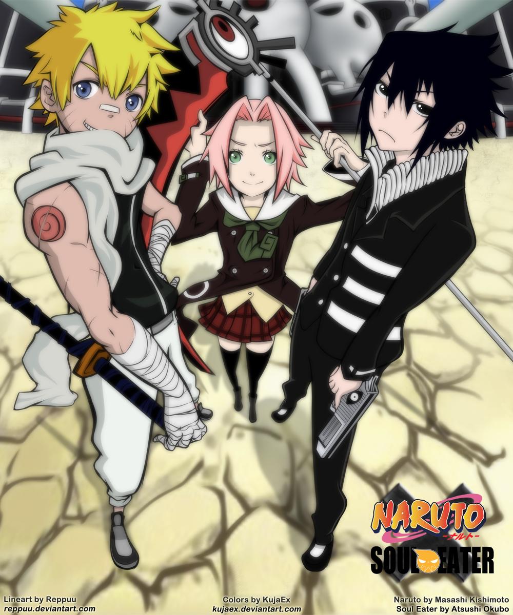 http://fc08.deviantart.net/fs49/f/2009/227/6/3/Naruto_x_Soul_Eater_by_KujaEx.jpg