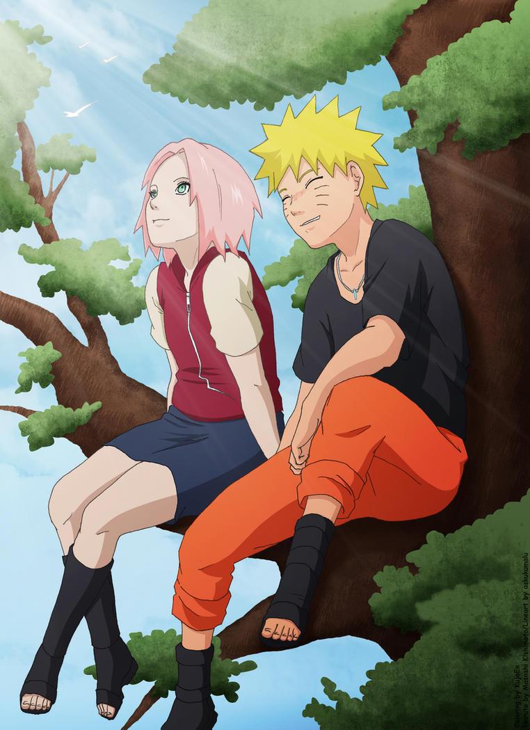Naruto and Sakura by KujaEx on DeviantArt