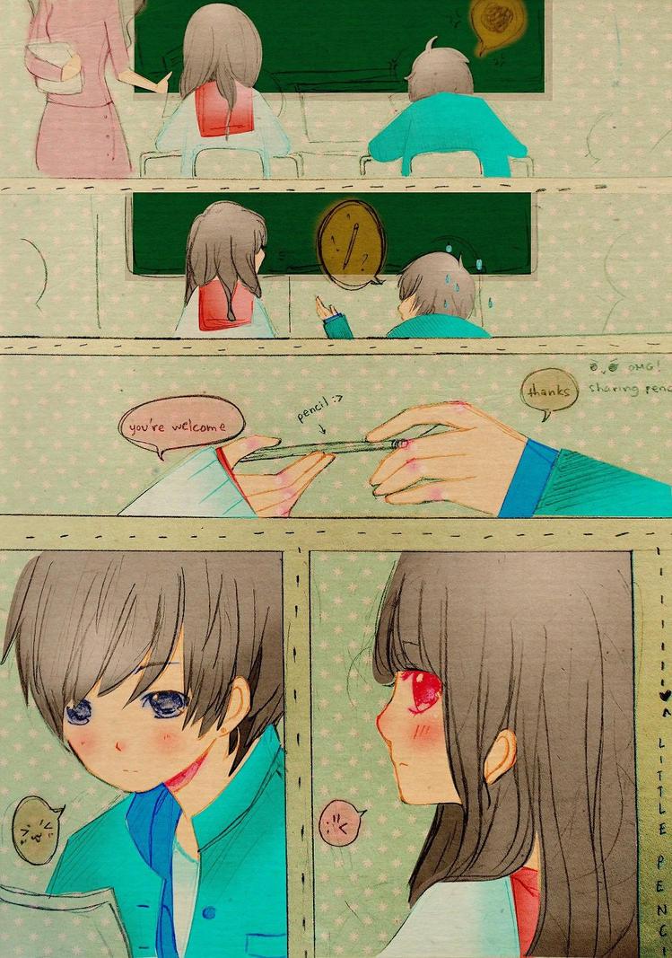 Pencil story by Mei-chiii