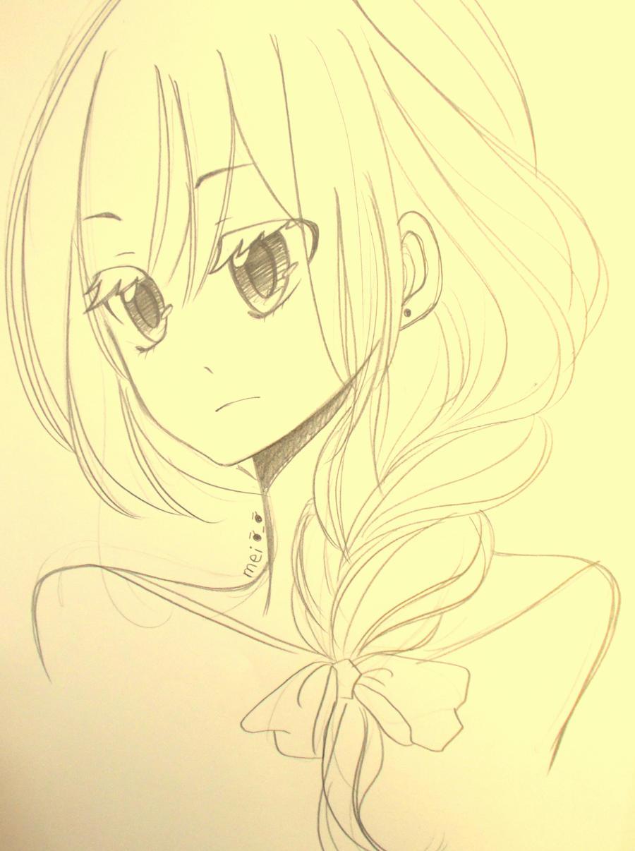 Random sketch by Mei-chiii