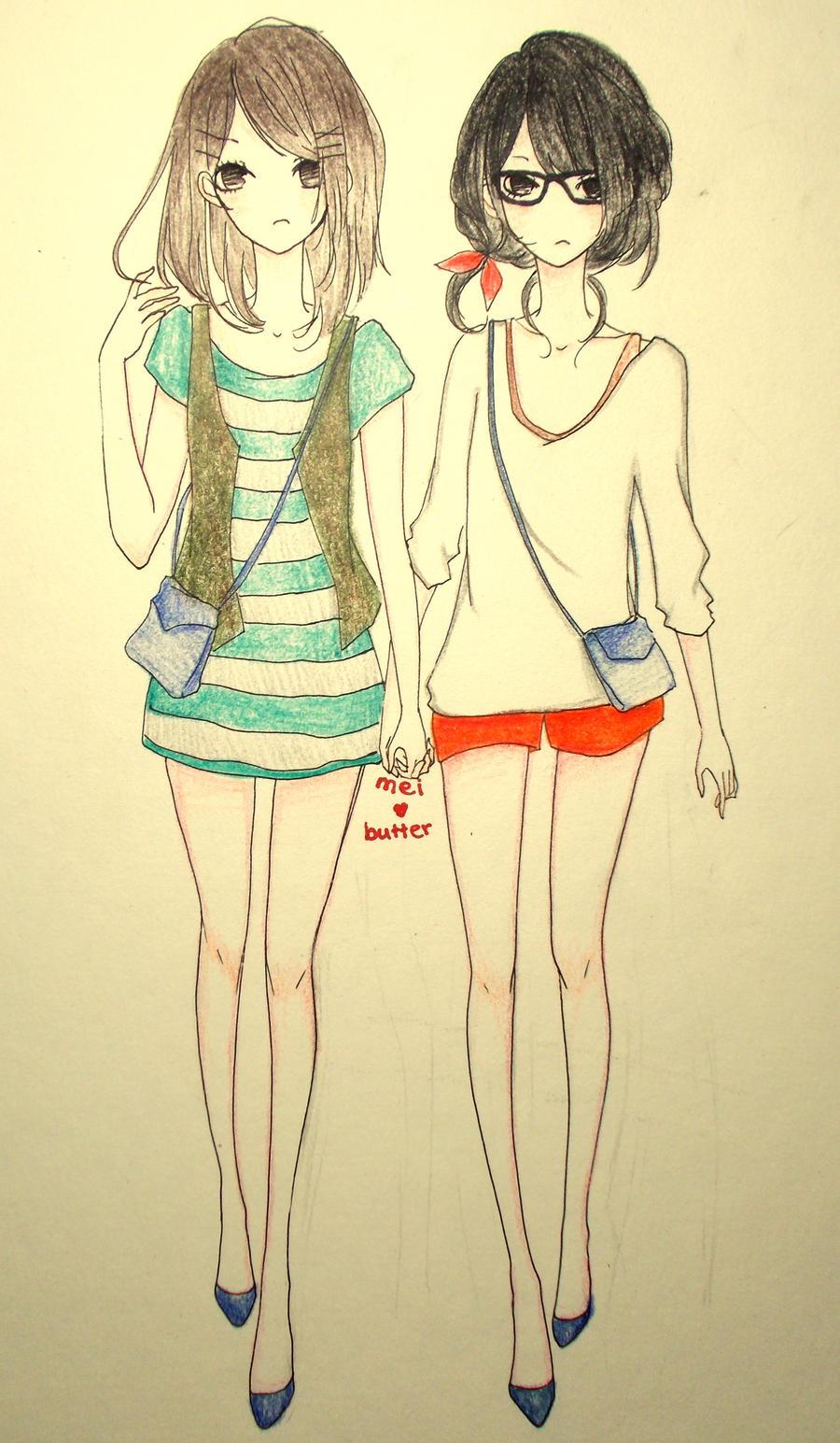 Flu Girls by Mei-chiii