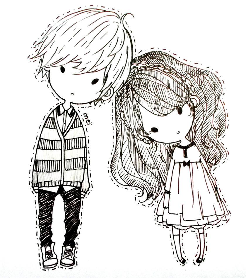 Couple by Mei-chiii