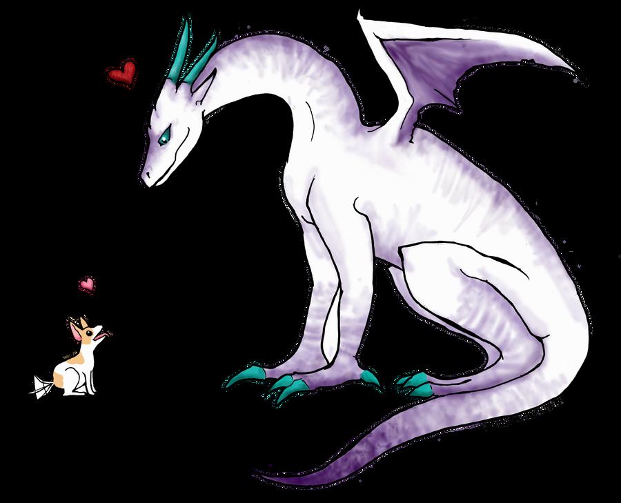 The Dragon's Friend by DemonicNeko