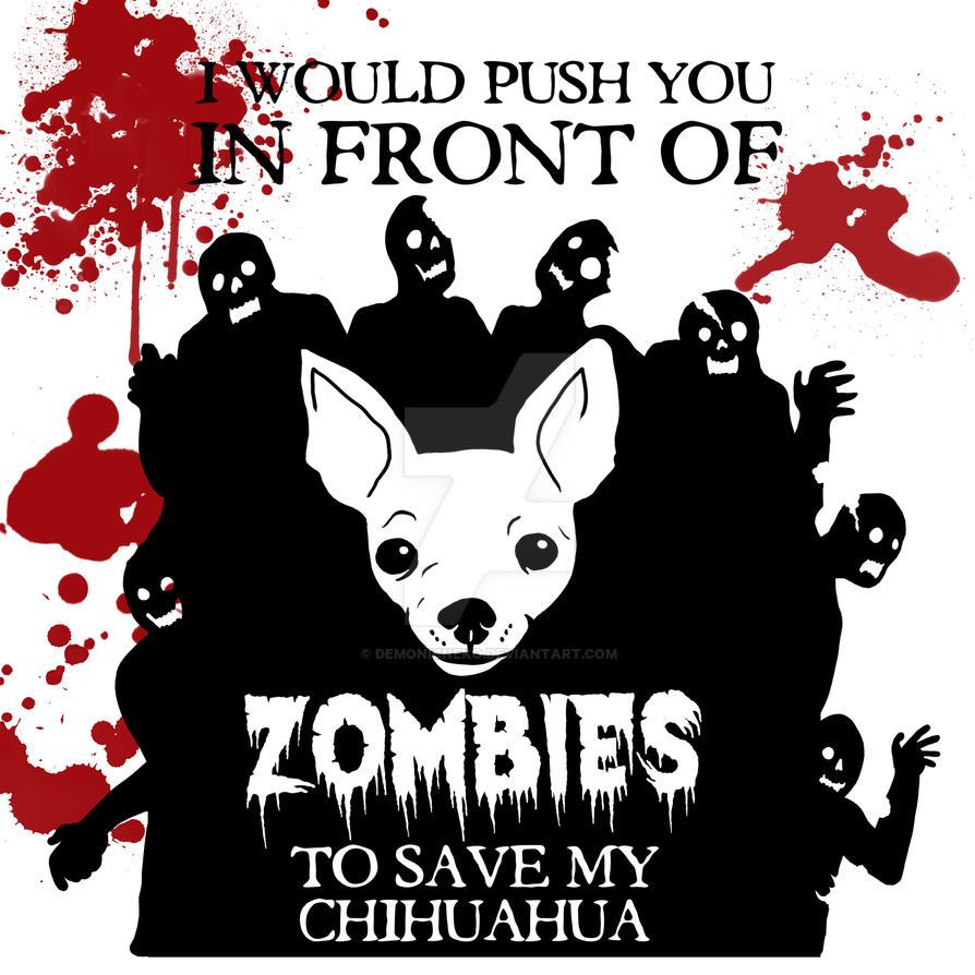 Drawlloween Day 8 Zombie by DemonicNeko